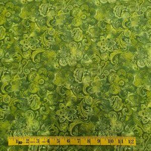 Green Floral Tonal
