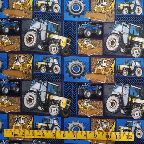 Labels Tractors Front end loader