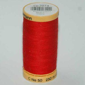 Gutermann Cotton 250m Red