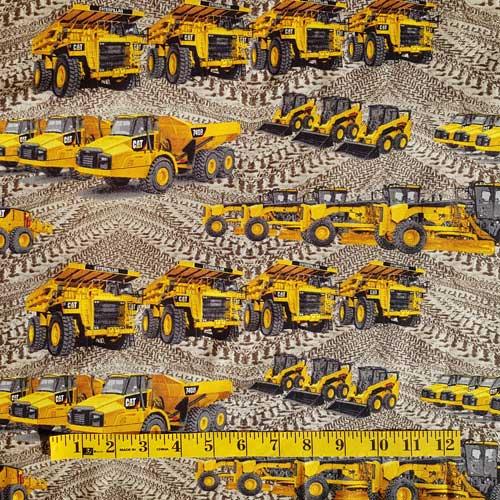 Caterpillar Trucks and Tracks
