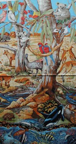 Australian Wild Scene