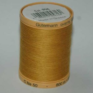 Gutermann 800m Mustard Cotton
