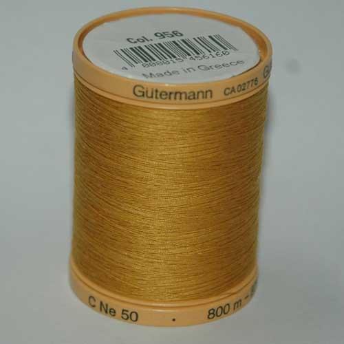 Gutermann 800m Mustard Cotton