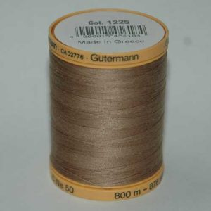 Gutermann Cotton 800m Taupe