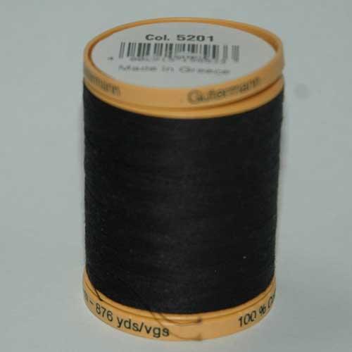 Gutermann Cotton 800m Black