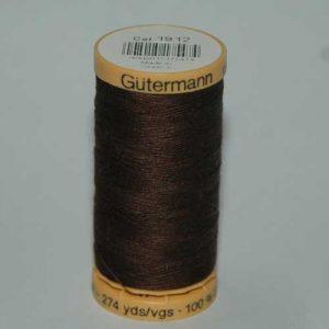 Gutermann Cotton 250m Brown