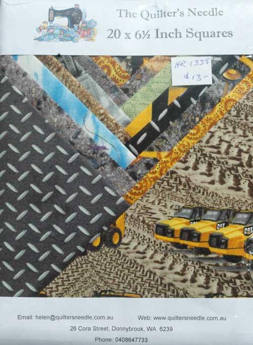 """Charm Squares 6 1/2"""" Caterpillar"""