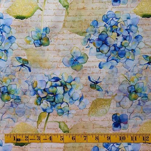 Leah Collection Hydrangea Bunchesbric