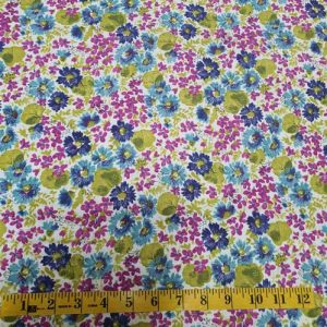 Cassandra Turquoise Pink Lime Floral