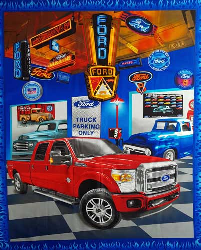 Ford Showroom Panel