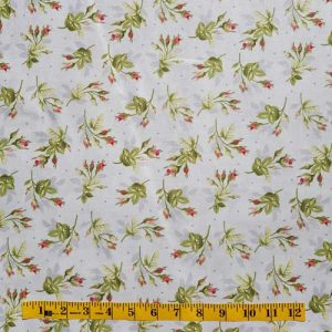 Heather Rosebuds Grey