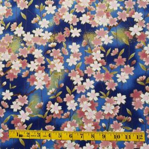 Oriental Cherry Blossom Blue
