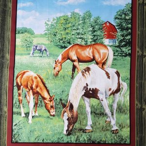 Valley Crest Horses Panel